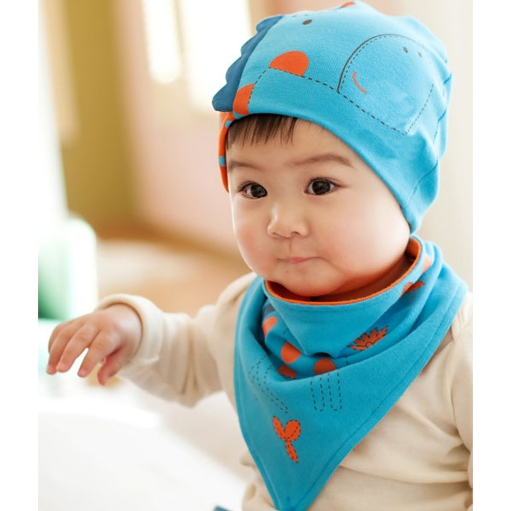 9b4db2cca4a7 Bellazaara Baby Boys Girls Patchwork Pattern Soft Cotton Hedging Hat ...